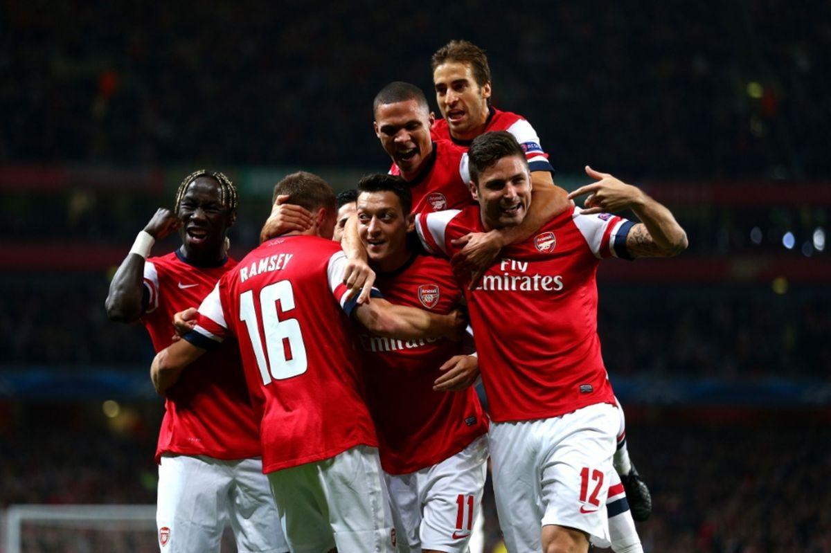 arsenal london champions league